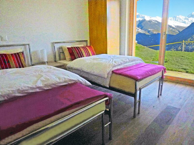 Vacances en montagne Chalet Croix Blanche - Thyon - Chambre