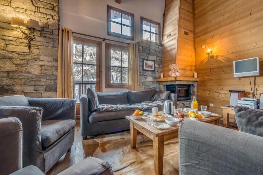 Wakacje w górach Domek górski 7 pokojowy 12 osób - Chalet Crystal Ridge - Tignes - Pokój gościnny