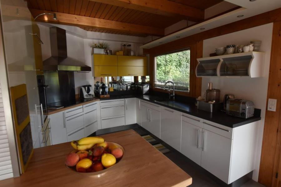 Vacaciones en montaña Chalet triplex 6 piezas para 11 personas - Chalet d'Anne - Le Grand Bornand - Cocina abierta