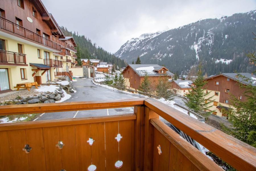 Vacances en montagne Appartement 2 pièces cabine 6 personnes (H22) - Chalet d'Arrondaz - Valfréjus - Balcon