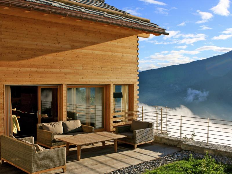 ... Rent In Ski Resort Chalet Dargan   Thyon   Summer Outside ...