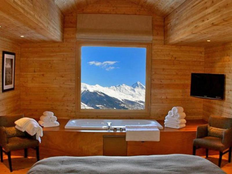 Vacanze in montagna Chalet Dargan - Thyon - Bagno