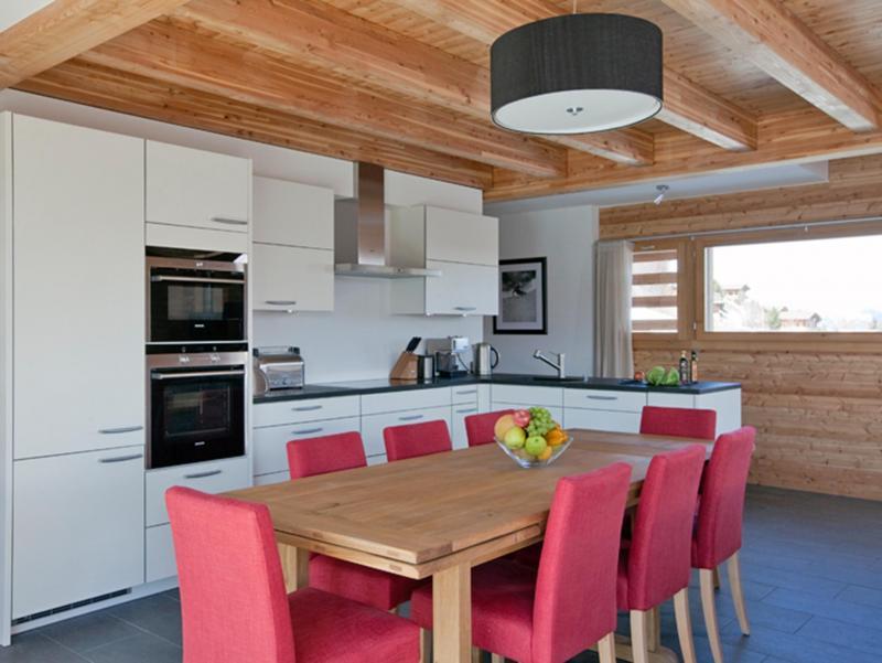 Vacanze in montagna Chalet Dargan - Thyon - Cucina aperta