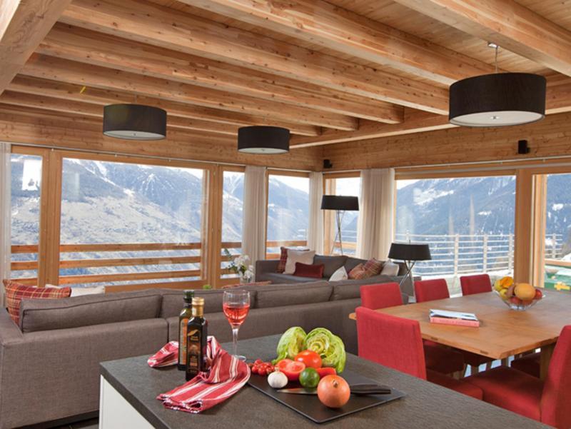 Vacanze in montagna Chalet Dargan - Thyon - Sala da pranzo