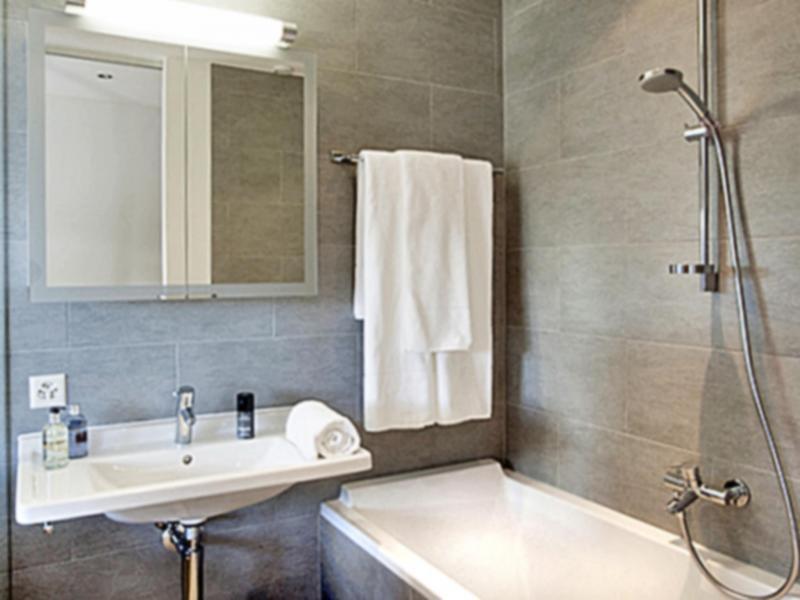 Vacances en montagne Chalet Dargan - Thyon - Salle de bains