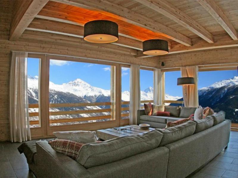 Vacanze in montagna Chalet Dargan - Thyon - Soggiorno