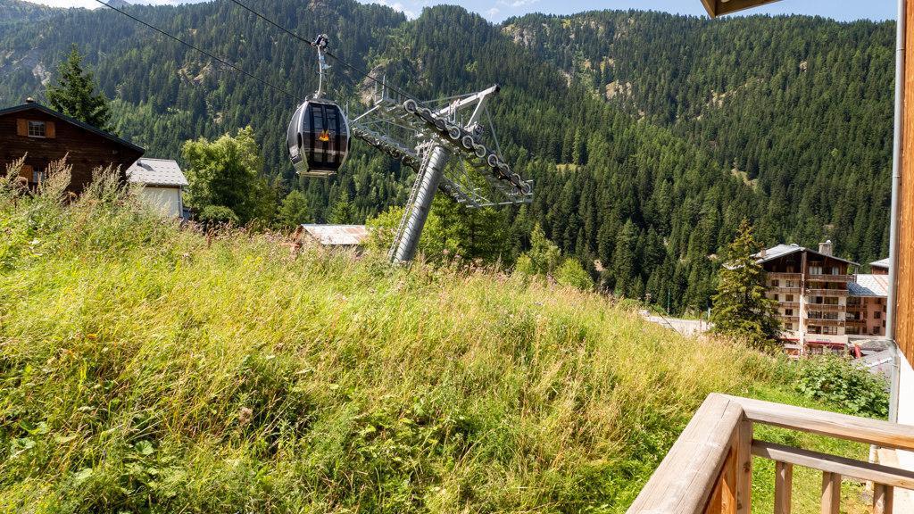 Vacances en montagne Studio cabine 4 personnes (14) - Chalet de Florence - Valfréjus - Extérieur été