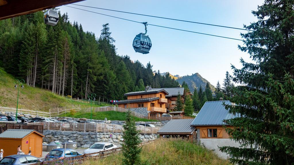 Vacances en montagne Appartement 2 pièces 4 personnes (42) - Chalet de Florence - Valfréjus - Extérieur été