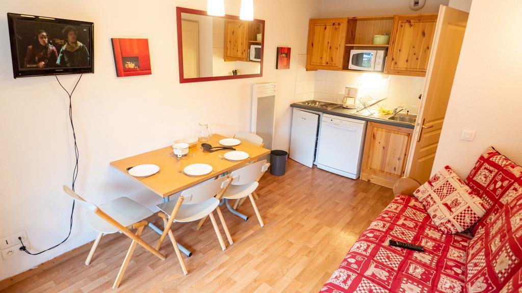 Vacances en montagne Appartement 2 pièces 4 personnes (42) - Chalet de Florence - Valfréjus - Séjour