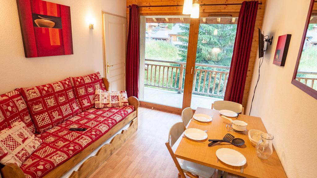 Vacances en montagne Appartement 2 pièces 4 personnes (42) - Chalet de Florence - Valfréjus - Table