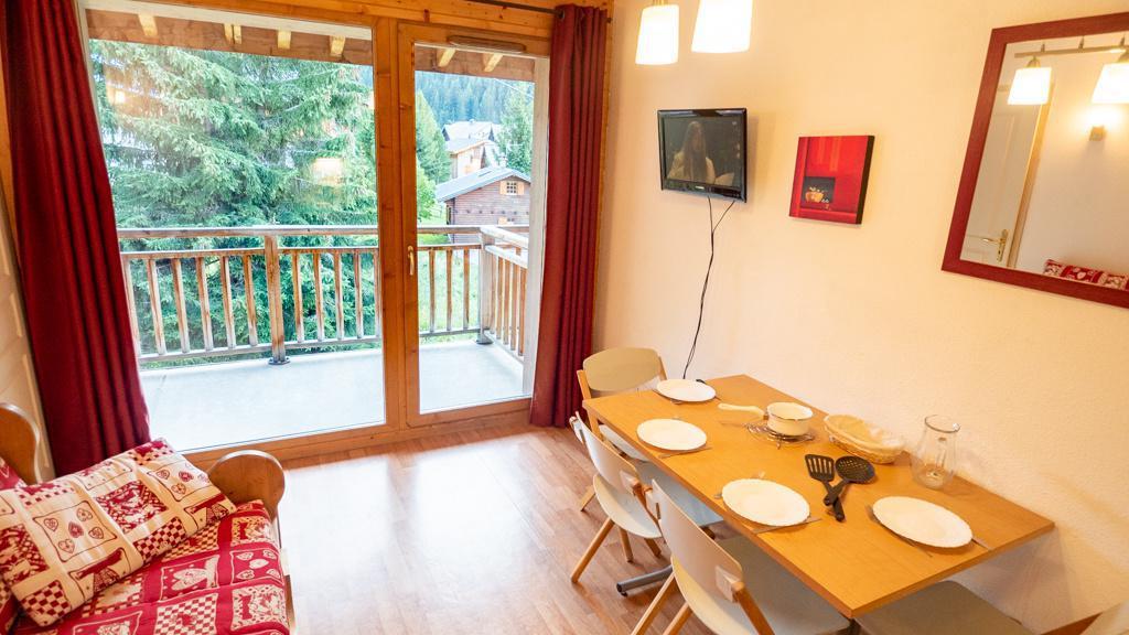 Vacances en montagne Appartement 2 pièces 4 personnes (42) - Chalet de Florence - Valfréjus - Tv