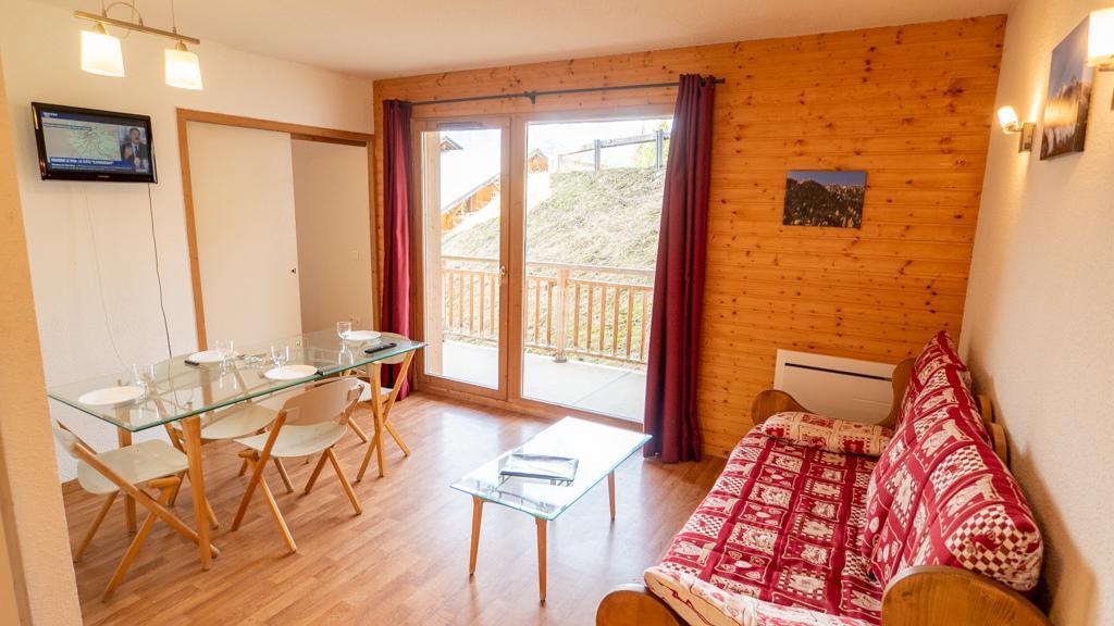 Vacances en montagne Appartement 2 pièces 4 personnes (équipé PMR) (17) - Chalet de Florence - Valfréjus - Séjour