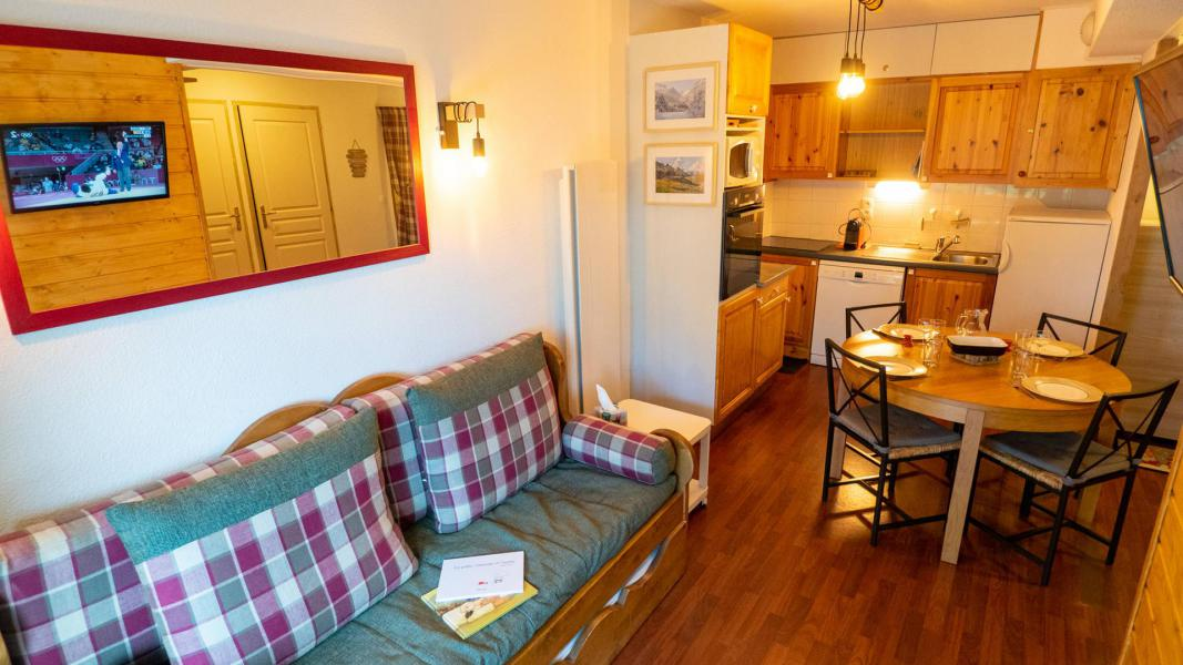 Vacances en montagne Appartement 2 pièces 5 personnes (206) - Chalet de Florence - Valfréjus - Séjour