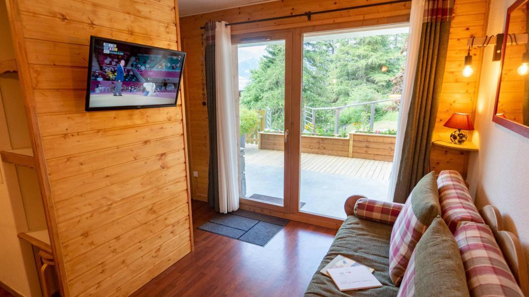 Vacances en montagne Appartement 2 pièces 5 personnes (206) - Chalet de Florence - Valfréjus - Tv