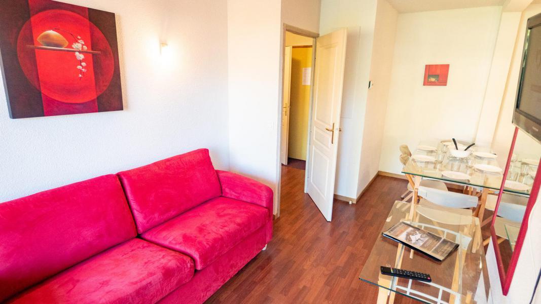 Vacances en montagne Appartement 2 pièces cabine 6 personnes (207) - Chalet de Florence - Valfréjus - Canapé