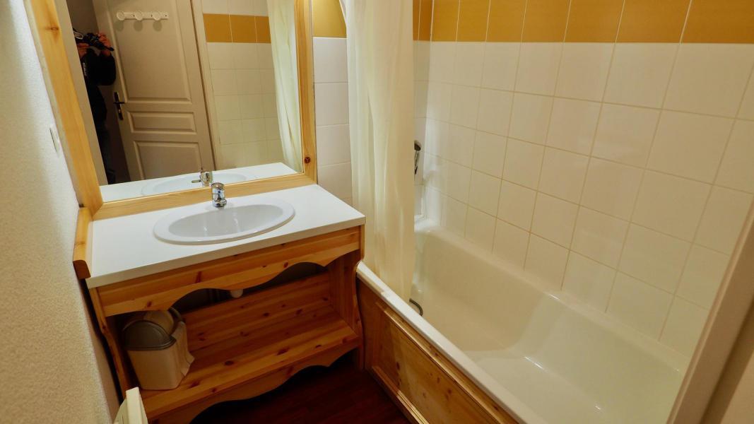 Vacances en montagne Appartement 2 pièces cabine 8 personnes (205) - Chalet de Florence - Valfréjus - Baignoire