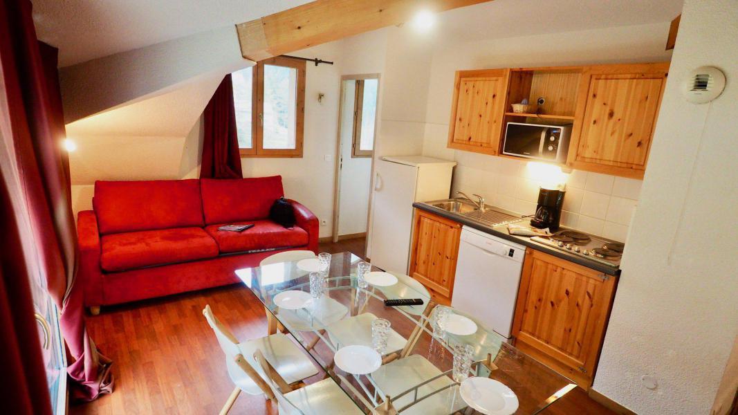 Vacances en montagne Appartement 3 pièces 8 personnes (403) - Chalet de Florence - Valfréjus - Séjour