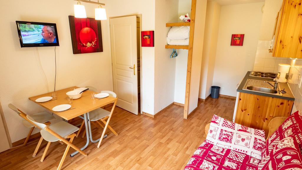 Vacances en montagne Studio cabine 4 personnes (14) - Chalet de Florence - Valfréjus - Coin repas