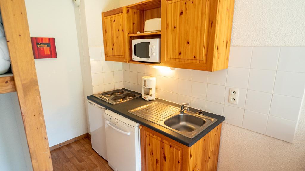 Vacances en montagne Studio cabine 4 personnes (14) - Chalet de Florence - Valfréjus - Kitchenette