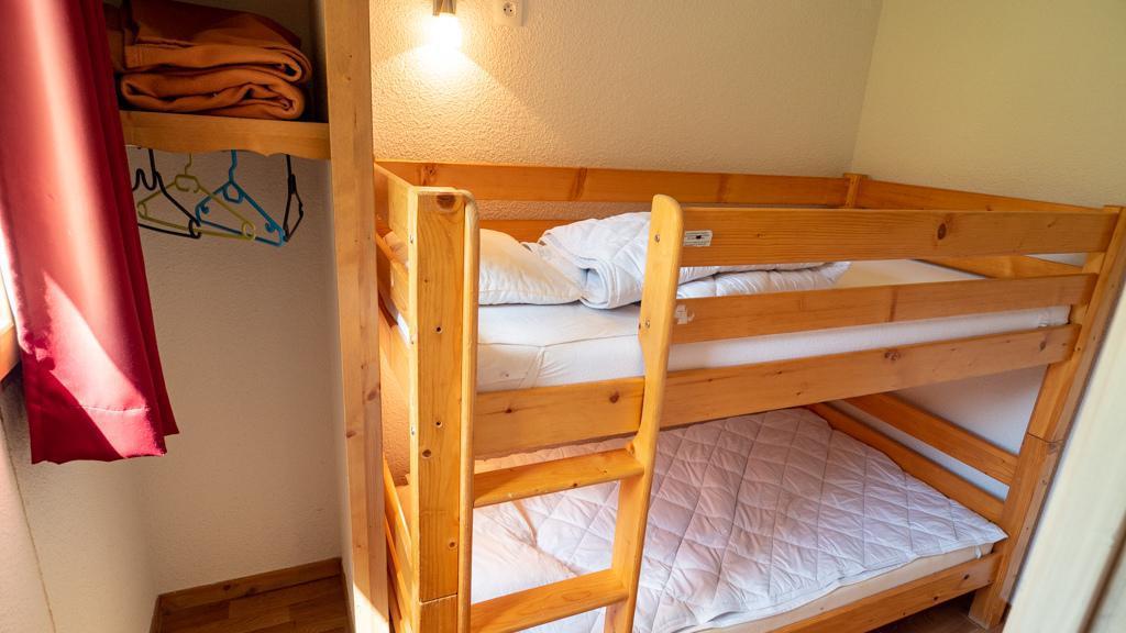 Vacances en montagne Studio cabine 4 personnes (14) - Chalet de Florence - Valfréjus - Lits superposés