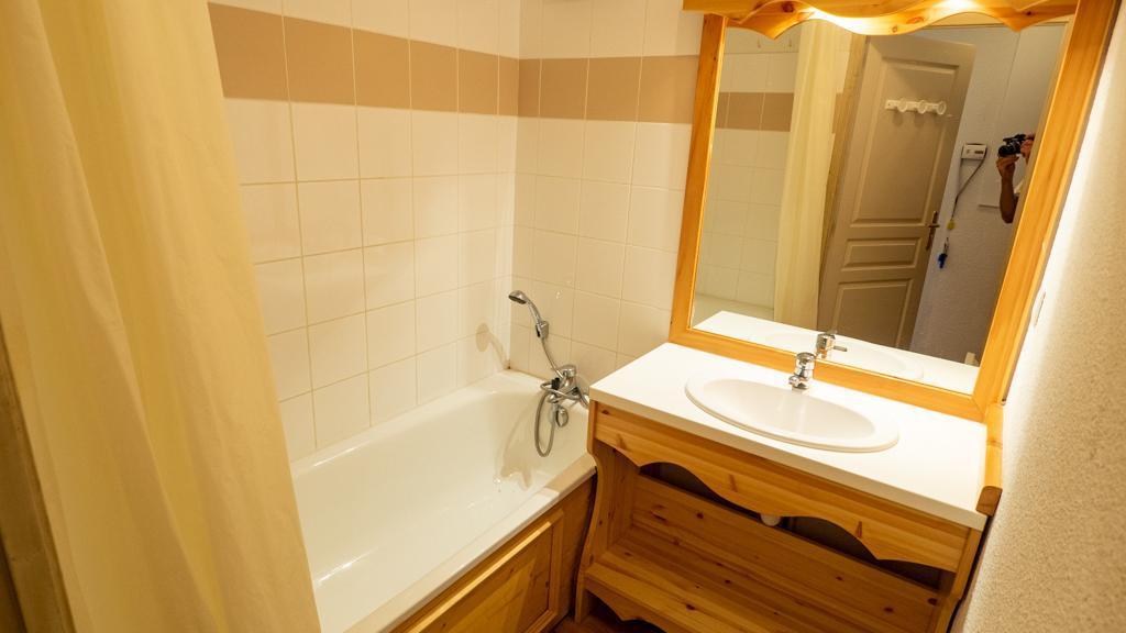Vacances en montagne Studio cabine 4 personnes (14) - Chalet de Florence - Valfréjus - Salle de bains