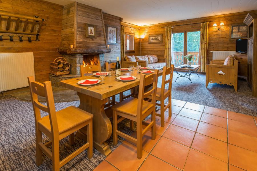 Urlaub in den Bergen 4 Zimmer Appartement für 6-8 Personen - Chalet de l'Ours - Les Arcs - Esszimmer