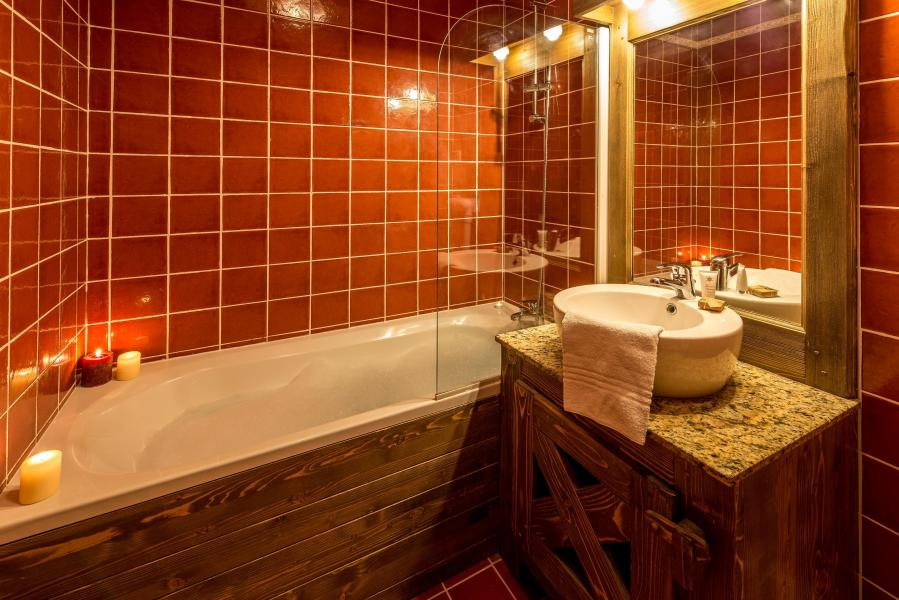 Urlaub in den Bergen Chalet de l'Ours - Les Arcs - Badezimmer