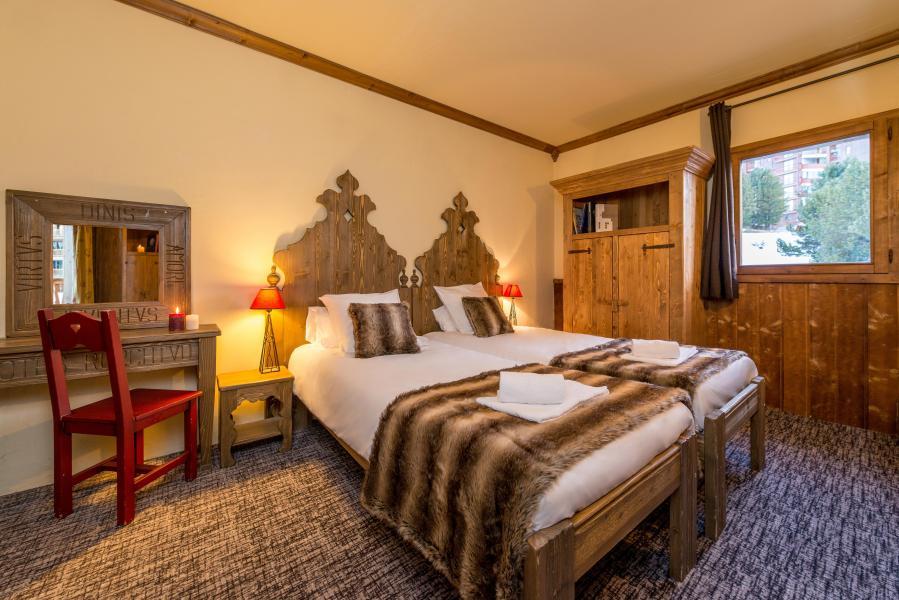 Urlaub in den Bergen Chalet de l'Ours - Les Arcs - Schlafzimmer