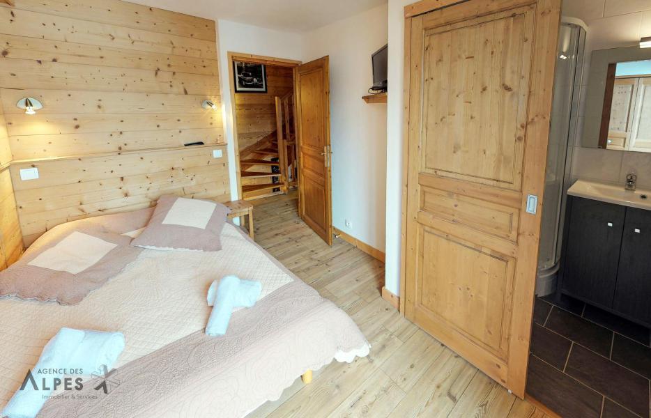 Vacances en montagne Chalet 10 pièces 18 personnes (LET) - Chalet de la Villette - Saint Martin de Belleville - Chambre