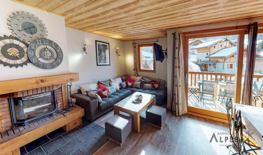 Vacances en montagne Chalet 10 pièces 18 personnes (LET) - Chalet de la Villette - Saint Martin de Belleville - Séjour
