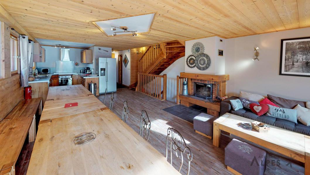 Vacances en montagne Chalet 10 pièces 18 personnes (LET) - Chalet de la Villette - Saint Martin de Belleville - Table