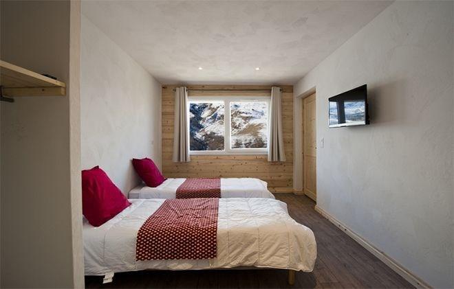 Vacaciones en montaña Chalet de Marie - Les Menuires - Cama individual