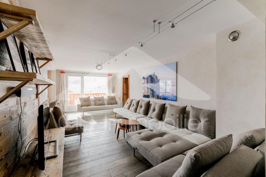 Holiday in mountain resort 6 room apartment 10 people (10) - Chalet de Méribel - Méribel - Living room