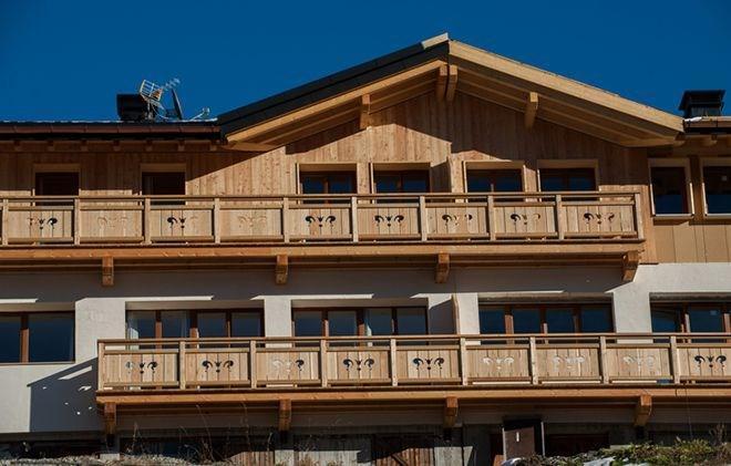 Location au ski Chalet de Sophie - Les Menuires - Extérieur été