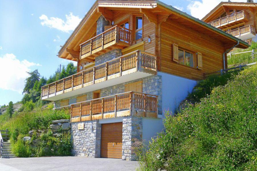 Аренда на лыжном курорте Chalet Dent Blanche - Thyon - летом под открытым небом