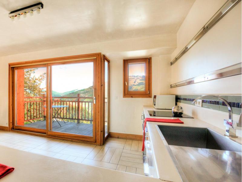 Vacaciones en montaña Chalet des Arcs CED01 - Les Arcs - Cocina