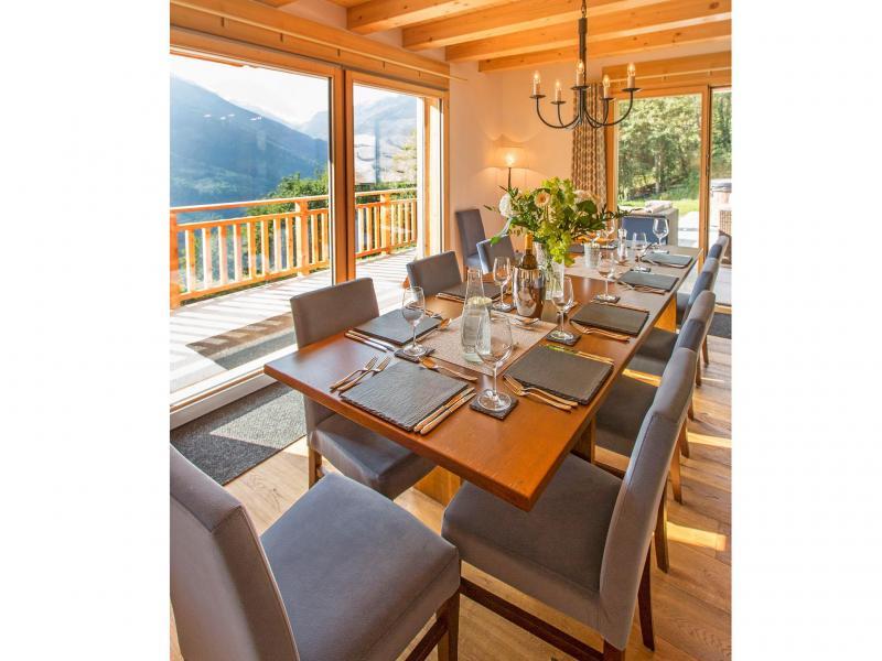 Vacances en montagne Chalet des Etoiles - Thyon - Salle à manger