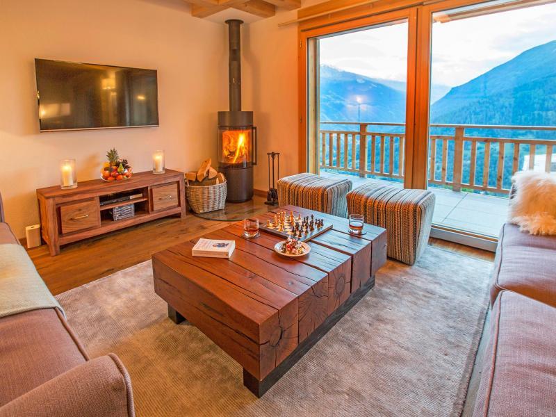 Vacanze in montagna Chalet des Etoiles - Thyon - Soggiorno