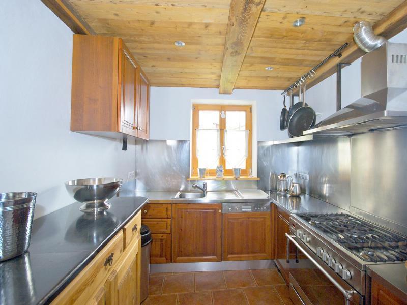 Vacances en montagne Chalet Deux Têtes I - Les Arcs - Cuisine