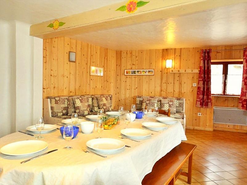 Vacances en montagne Chalet Diamant - Champagny-en-Vanoise - Table
