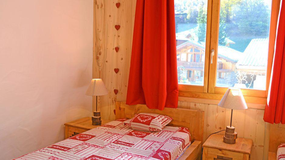 Vacances en montagne Chalet du Berger - Les Menuires - Chambre
