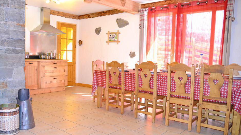 Vacanze in montagna Chalet du Berger - Les Menuires - Sala da pranzo