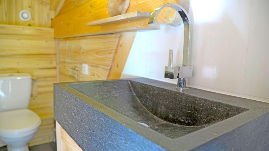 Vacances en montagne Chalet du Berger - Les Menuires - Salle de bains