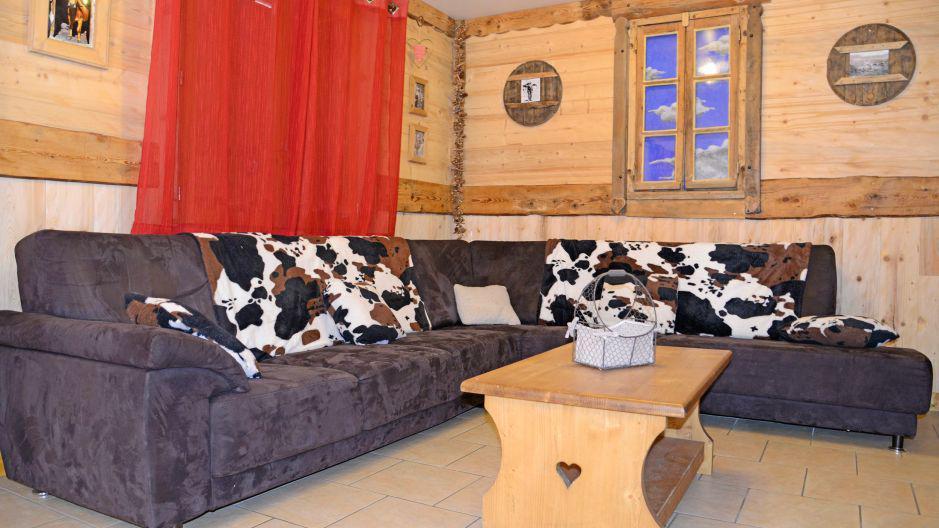 Vacanze in montagna Chalet du Berger - Les Menuires - Soggiorno