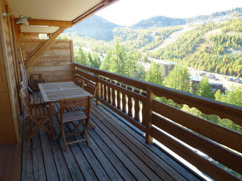 Vacaciones en montaña Apartamento 3 piezas para 6 personas (505) - Chalet du Mercantour - Isola 2000 - Balcón