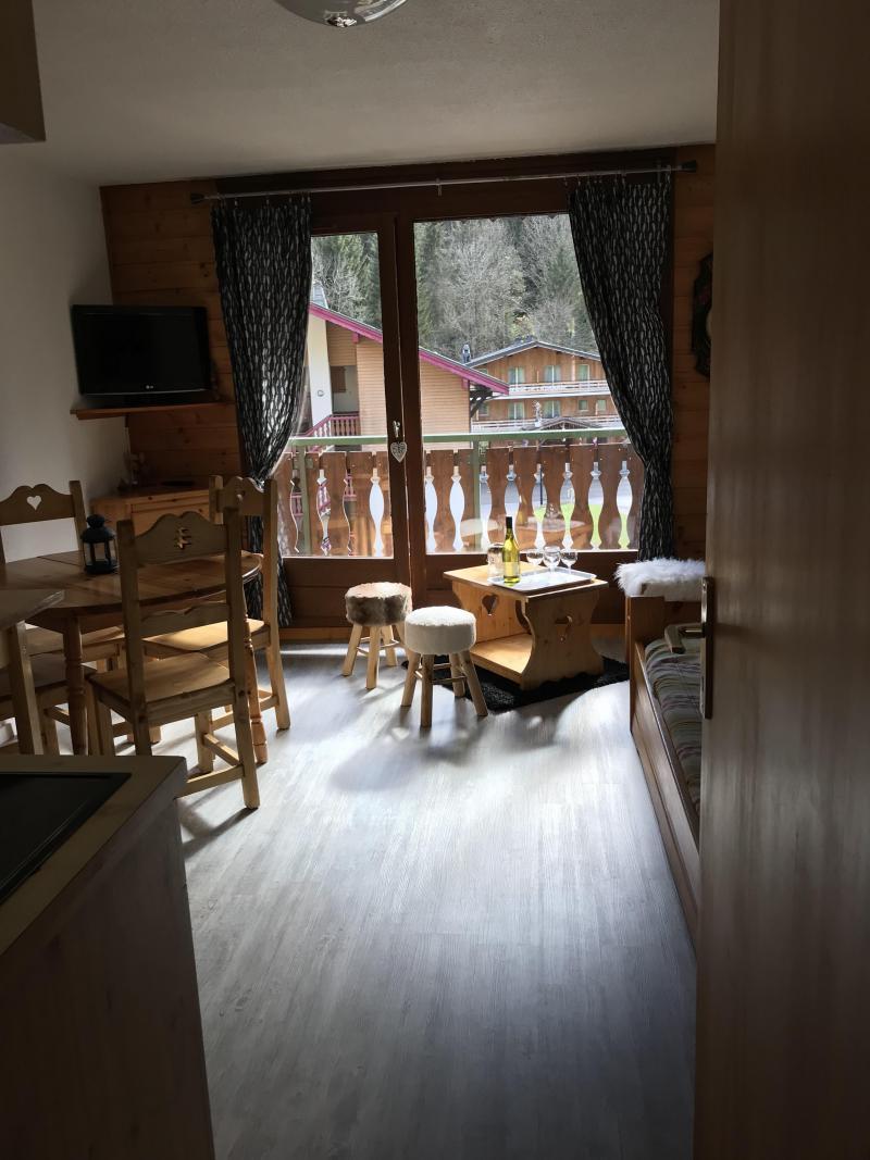 Vacaciones en montaña Apartamento cabina 2 piezas para 5 personas (12C) - Chalet du Perthuis - Châtel