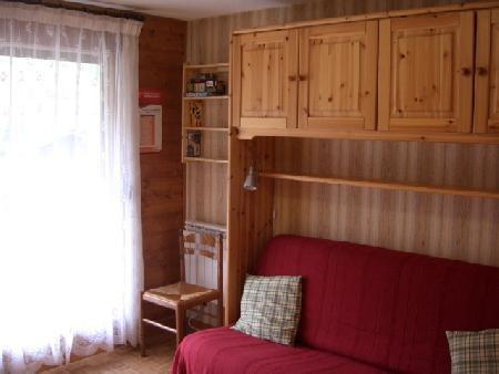 Wakacje w górach Apartament 2 pokojowy z alkową 5 osób (11B) - Chalet du Perthuis - Châtel - Pokój gościnny