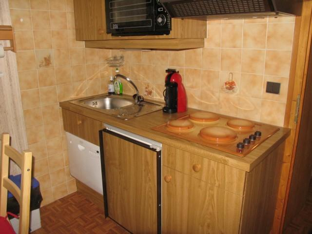 Wakacje w górach Apartament 2 pokojowy z alkową 5 osób (8A) - Chalet du Perthuis - Châtel - Aneks kuchenny