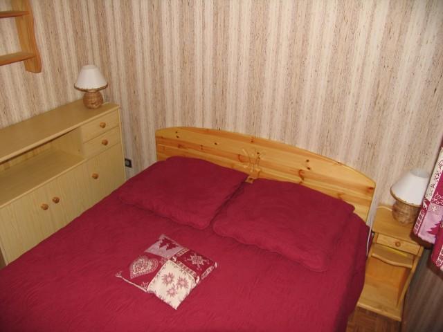 Wakacje w górach Apartament 2 pokojowy z alkową 5 osób (8A) - Chalet du Perthuis - Châtel - Łóżkem małżeńskim