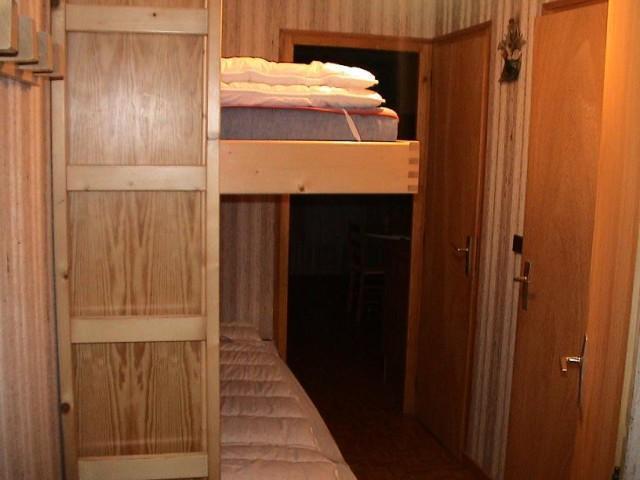 Vacaciones en montaña Apartamento cabina 2 piezas para 5 personas (8A) - Chalet du Perthuis - Châtel - Camas superpuestas